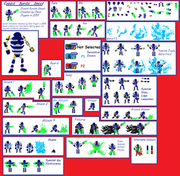 Cobalt Sprite Sheet by Barbasol