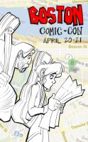Boston Comic Con c 2013, here we come! by basakward