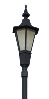 Lamp Post - I - PNG by Walking-Tall