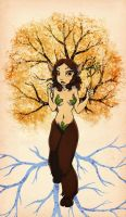 Dryad Fauness by Vovosunt