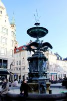The Stork Fountain by phlufii