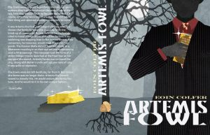 Artemis Fowl Book Jacket by ChiisanaHime