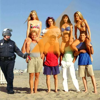 Pepperspray 90210 (Make sure and get Dylan...) by chrisjanusdesign