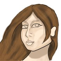 Woman Picture --INCOMPLETE-- by rebex1213