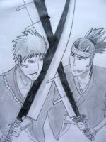 Ichigo vs. Renji by CrazyKempatchi
