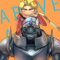 FMA: Officially Above by Bluemisti