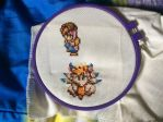 Secret of Mana cross stitch by shibblesgiggles01