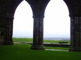Whitby Arches Stock by LadyxBoleyn