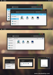 Yosemite Black for Windows 7 by cu88