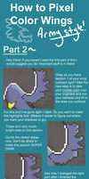How to Pixel Color Wings Part2 by ShiftyCheesecake