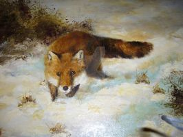 The Prowler - oils by Lynne-Abley-Burton