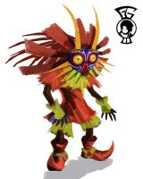 Skull Kid by Wolfenborg