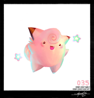 Clefairy ! Pokemon One a Day! by BonnyJohn