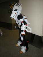 Liger Zero's Stance by Dregrith