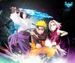 Naruto Wallpaper by desiredlover94