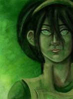 Toph paint by blindbandit5