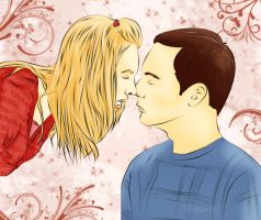 Sheldon and Penny... by WhiteRitsu