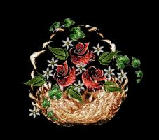 Flower Basket by rockgem