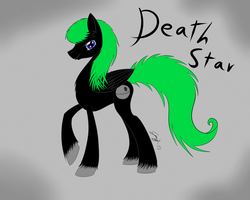 Request~Deathstar by VioletGreySha