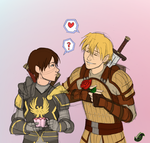 Ouran + Dragon Age pt1 by JadeRaven93