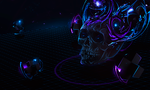 Skull Between Dimensions by RodTheSecond