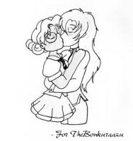 Request - Utena and Anthy by beanchan
