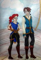 On the ship by Estelior