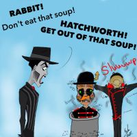 Steam Powered Giraffe- soup problems by KaybuscusCappius