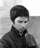 Noel Gallagher by ChestyMcGee