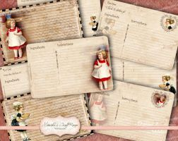 Bacground-Recipe-Card-Kitchen-Girls by mimikascraftroom
