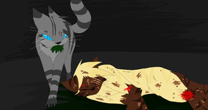 Medicine cat den -Thunderclan by annathewerewolf