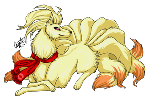 Willow the Ninetales by Cryptic-Alchemist