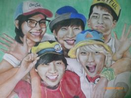 B1A4 by kpopfanalice