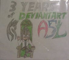 3 Years of DeviantART by A5L