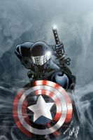 Snake Eyes with Shield by SWAVE18