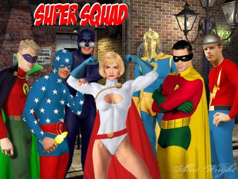 Super Squad by TheWrightMan