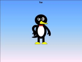 Tux the Penguin by platypus12
