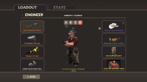 My updated Engineer TF2 loadout by Cowboygineer