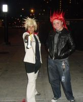Roxas and Axel by ShadowYazoo