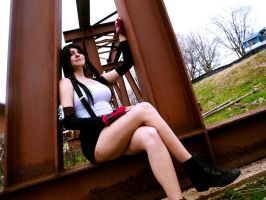 Tifa Lockhart Cosplay 2 by Hikari-Cosplay
