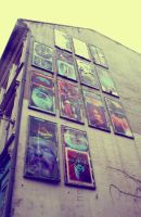 Pictures on a wall by TheAprilChild