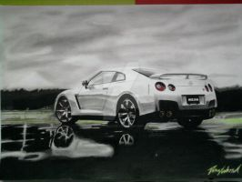 Nissan GTR Part 7 done by ArtOfCreativity