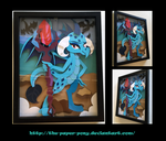 11x14 Ember Shadowbox by The-Paper-Pony