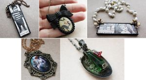 New Steampunk Necklaces by asunder