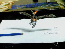 How to train your dragon 3D drawing by BoyNguyenArt