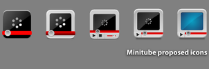 Minitube icon proposal by 0rAX0