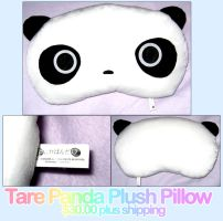 SOLD - Tare Panda Pillow by xlilbabydragonx