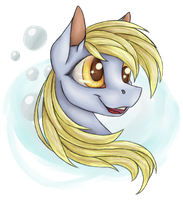 Derpy Hooves by PurpleSplash1372
