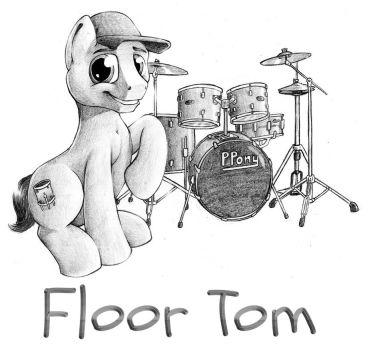 Floor Tom by HardRockLlama