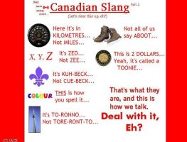 Canadian Slang: Part 2 by I-Am-Canadian-Eh